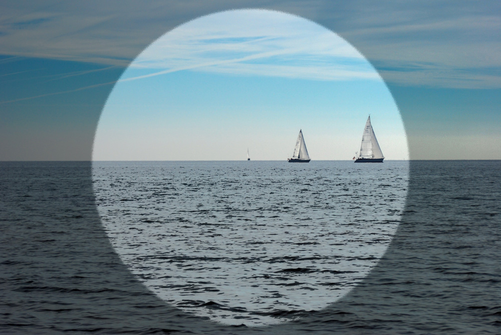 Horizont - Fotokunst - Meer - Wasser - Strand - Weite